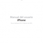 Descargar Manual de iPhone 6