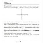 Ejercicios de coordenadas y distancia entre dos puntos