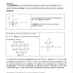 ejercicios de parabolas y circunferencia