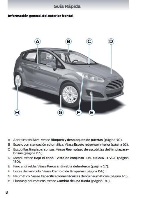 Descargar Manual Ford Fiesta 2016 / Zofti - Descargas gratis