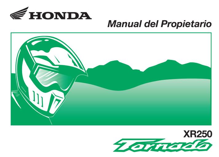 descargar manual honda tornado zofti descargas gratis rh zofti com Moto Honda Tornado 250 Honda 160
