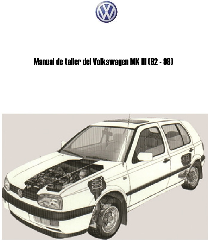 Descargar Manual De Taller Volkswagen Golf 92    Zofti