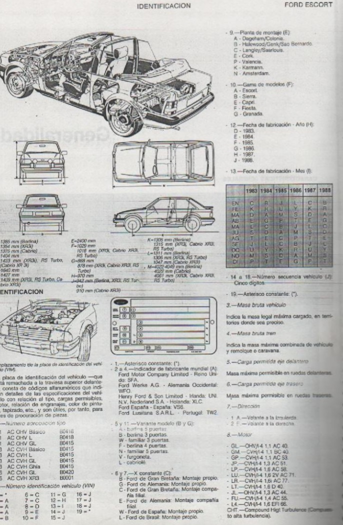 Descargar Manual De Taller Ford Escort