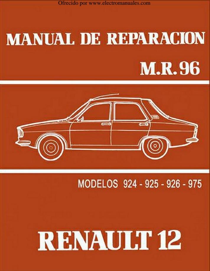 Descargar Manual De Taller Renault 12    Zofti