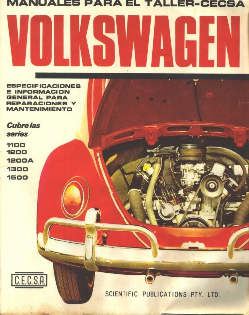 Descargar Manual    de       taller    Volkswagen Escarabajo  Zofti