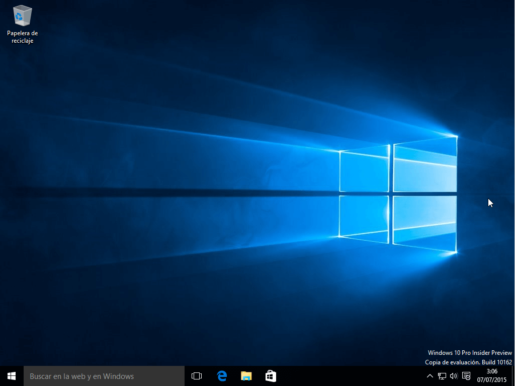 instalación y descarga de Windows 10
