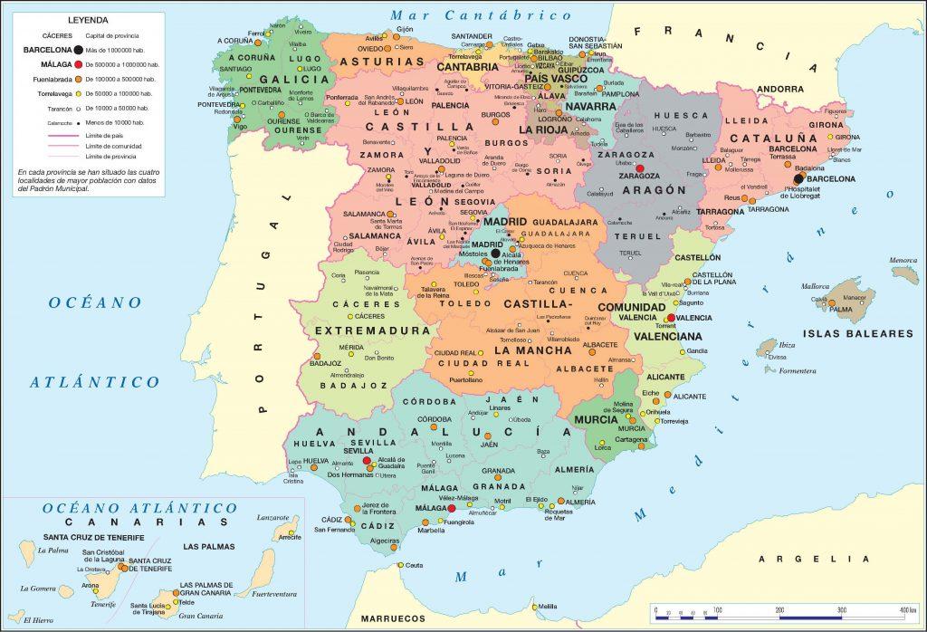 descargar mapa de españa gratis jpg
