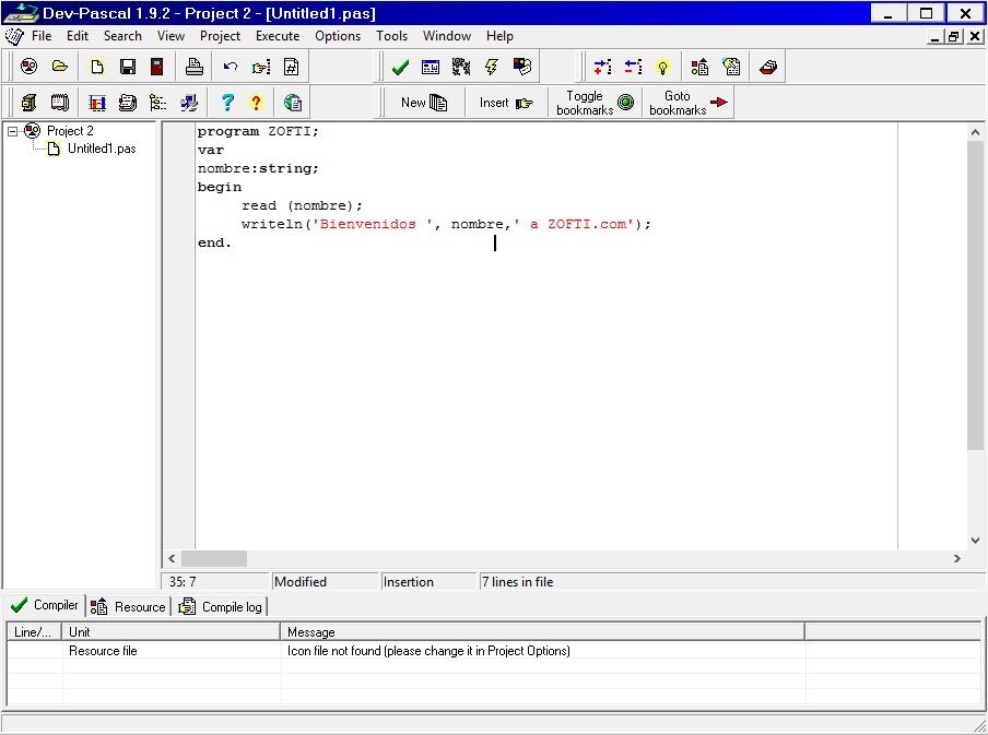 EDUCATION BLOG: Belajar Pemrograman Pascal dengan Dev-Pascal
