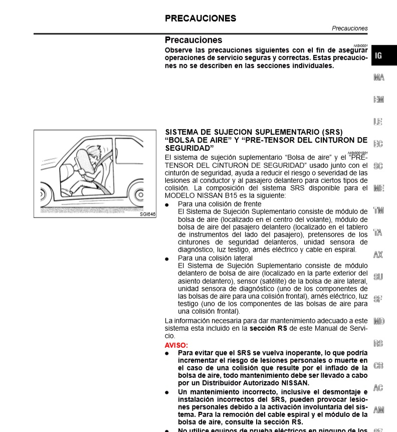 Descargar manual de taller nissan sentra zofti for Manual de muebleria pdf gratis