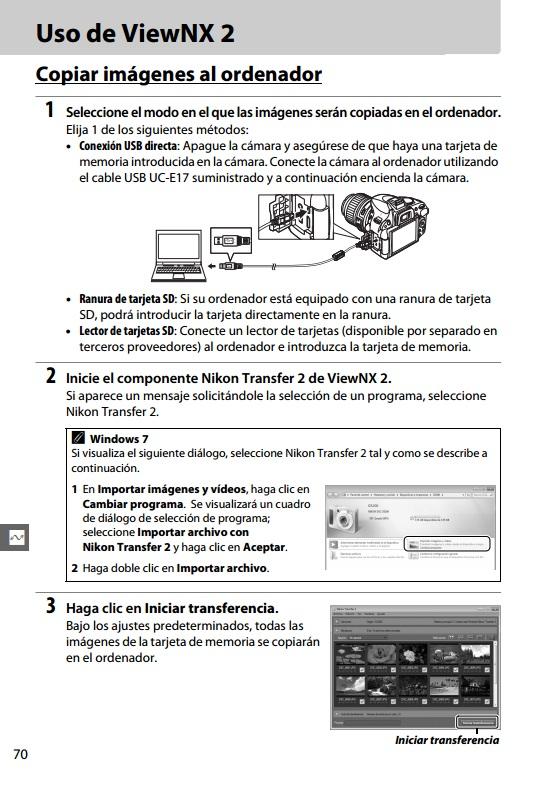 nikon viewnx 2 manual pdf español