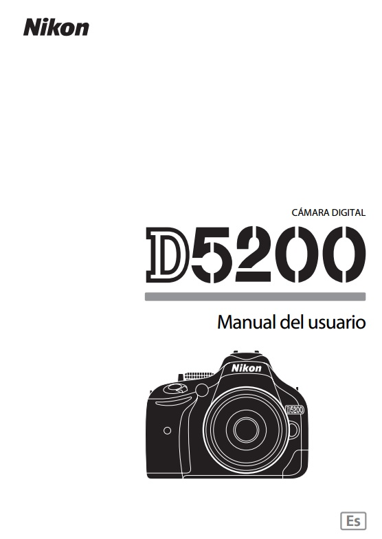 nikon d300 digital camara original instruction manual spanish text only nikon camara digital d300 manual del usuario