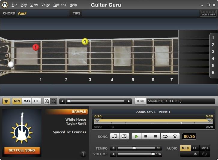 programa para aprender a tocar la guitarra