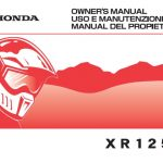 manual honda xr 125