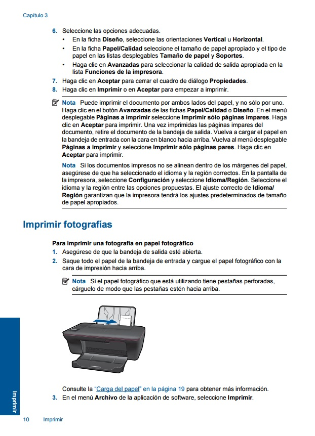 descargar drivers para instalar impresora hp deskjet 3050