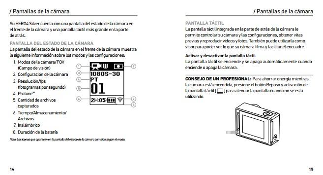 gopro hero 3 silver instruction manual pdf