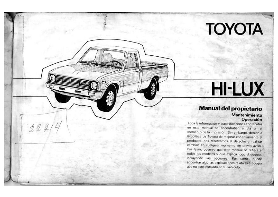 descargar manual toyota hilux 1980 zofti descargas gratis rh zofti com manual de toyota hilux manual de toyota hilux 2016