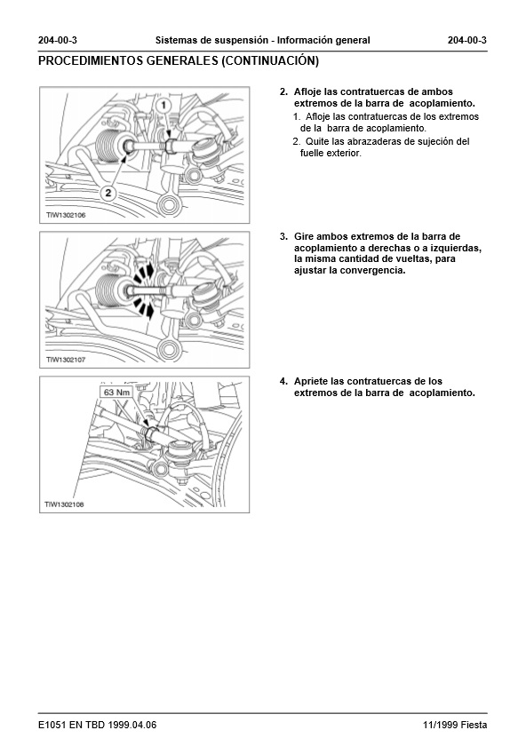 Manual De Taller Ford Fiesta on Diagrama Electrico De Ford