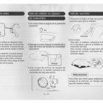 manual de usuario daewoo espero