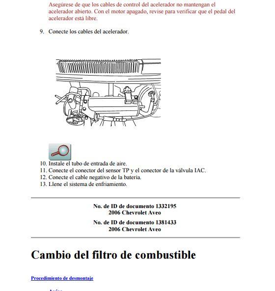 Descargar Manual De Taller Chevrolet Aveo Zofti Descargas Gratis
