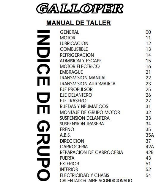 descargar manual de taller hyundai galloper   zofti hyundai galloper service manual pdf hyundai galloper service manual pdf