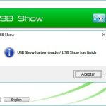 usb show recuperar archivos