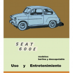 manual de usuario seat 600