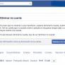 Cómo eliminar una cuenta de facebook para siempre