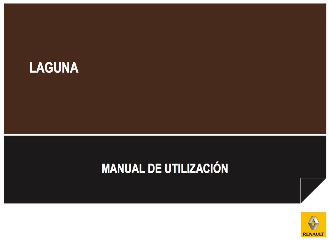 manual de usuario renault laguna