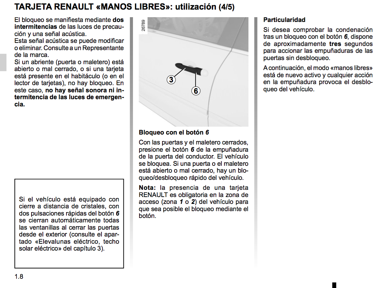 guía de usuario renault laguna
