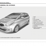 manual de usuario kia carens