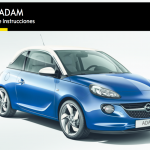 manual de usuario opel adam