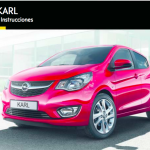 manual de usuario opel karl