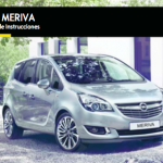 manual de usuario Opel Meriva