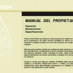 Manuales de Hyundai