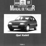 manual de taller y reparación kadett