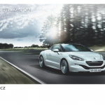 manual de usuario Peugeot RCZ