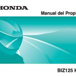 manual de servicio Honda Biz
