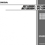 manual de despiece honda