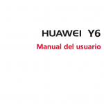 manual de usuario Huawei Y6