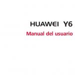 manual de usuario Huawei Y6