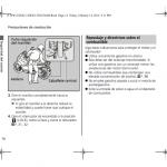 manual de usuario Honda 150