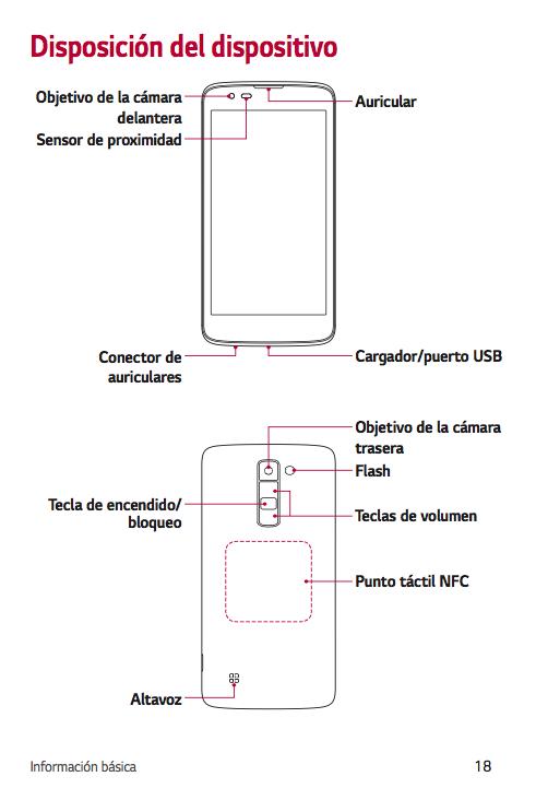 Manual del celular lg km900