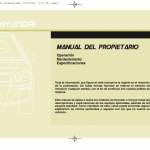 manual de usuario hyundai ix20