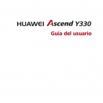 manual de usuario Huawei