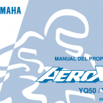 manual de usuario Yamaha
