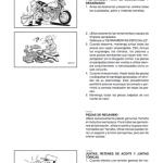 manual de motocicleta Yamaha