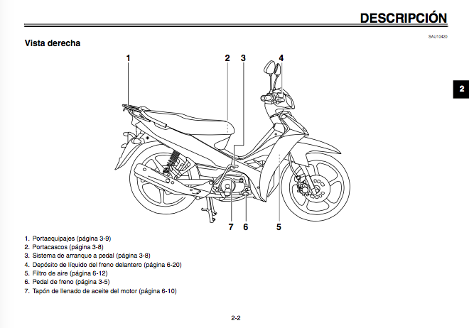 manual yamaha crypton 110 pdf