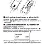 Manuales de calculadora Casio fx-500es