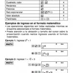 Manuales de calculadoras