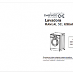 manual lavadora daewoo dwd-mg1011